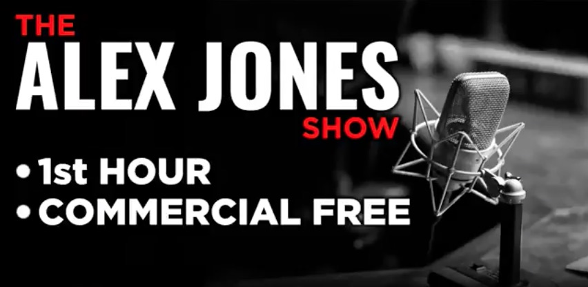 The Alex Jones Show video podcast by the hour