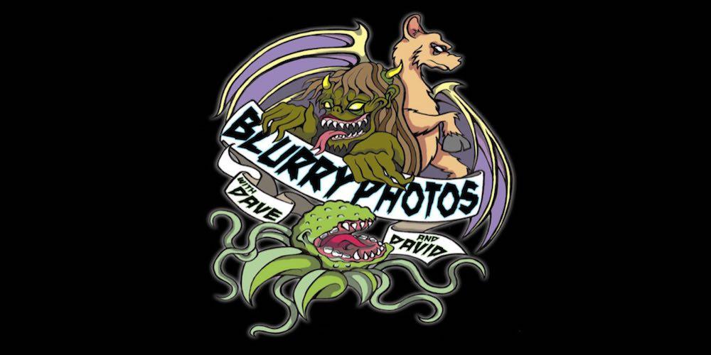 Blurry Photos audio on video podcast