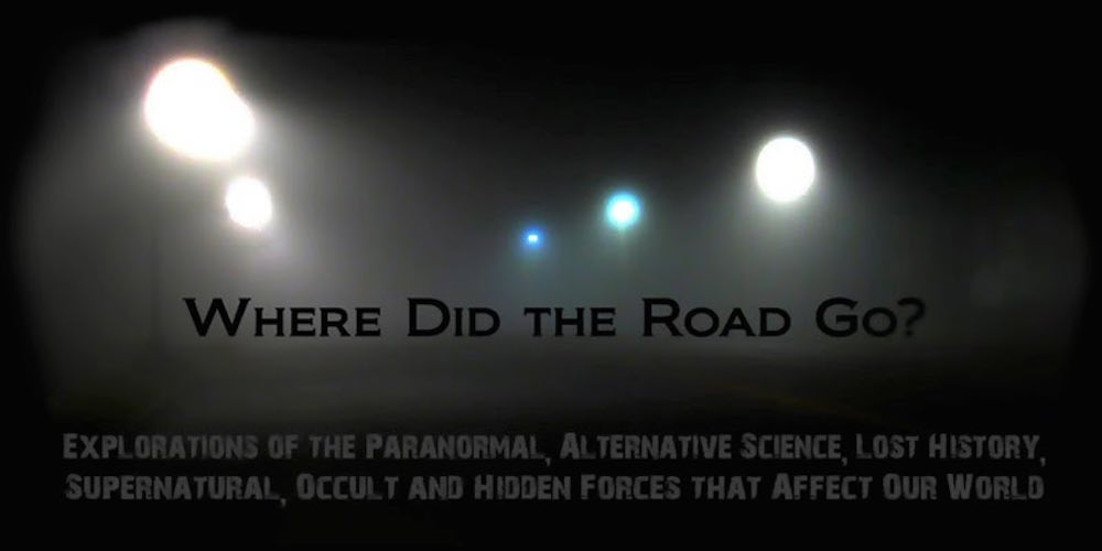 Where Did The Road Go? Radio audio on video podcast